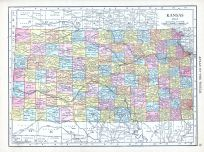 Kansas, World Atlas 1913